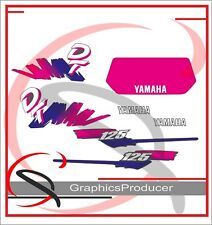 Yamaha DT 125 Replica Decals Sticker Grey Model Full Set Sticker Graphics