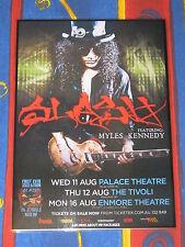 SLASH - MYLES KENNEDY - 2010  Australian Tour Promo Poster - GUNS N ROSES