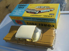 CORGI 248 CHEVROLET IMPALA ORIGINAL UNTOUCHED IN GOOD REPRO BOX.