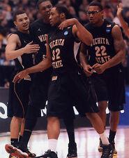 TEKELE COTTON WICHITA STATE BASKETBALL 8X10 SPORTS PHOTO (W)