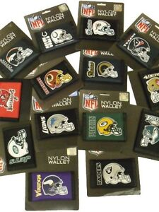NFL Trifold Nylon Wallets Official Licensed  Wallet All Teams NTR02193