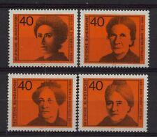 Germania OVEST 1974 SG # 1683-6 donne nella politica MNH Set