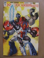 Micronauts #1 IDW 2016 Series RI Cover A 1:25 Variant 9.6 Near Mint+