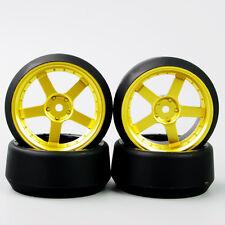 4X 5 Degree RC Drift Tires&Wheel 12mm Hex For HSP HPI 1:10 On-Road Car PP0370