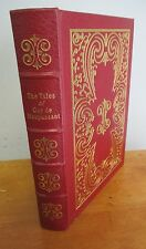 THE TALES OF GUY de MAUPASSANT, 1977 Easton Press, Illustrated
