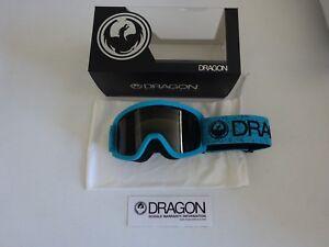 Dragon LIL D Blue Dark Smoke Youth Snow Goggle NIB New 2017
