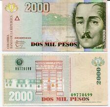 Colombia 2000 2,000 Pesos 2013 P 457 Unc