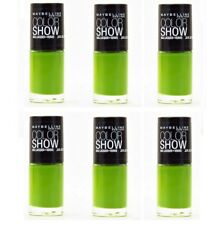 Maybelline Colorshow Nail Polish, 340 Go Go Green CHOOSE YOUR PACK
