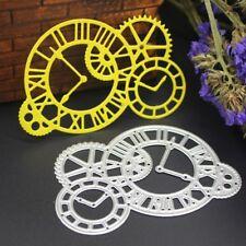 Clock Gears Metal Cutting Dies Stencil Embossing Scrapbooking Card Paper Craft