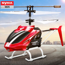 Syma W25 2CH RC Helicopter Infrared Control LED Light Mini Aircraft Kids Fun Toy