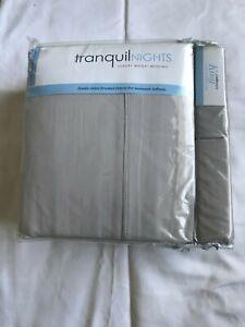 TranquilNights Luxury Weight Bedding/California King/6 Piece Sheet Set/NWT