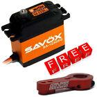 Savox SA-1230SG Monster Torque Steel Gear Digital Servo w/Free Red Alum Horn