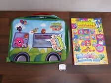 Moshi Monsters Party Bus Moshling Storage Carry Case & Silver Busling Figure