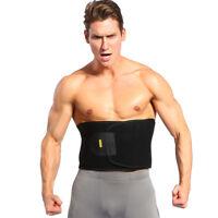 Men Hot Slim Belt Slimming Sweat Band Waist Tummy Belly Wrap Body Shaper Trimmer