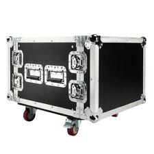 New High Quality 19 Inch Space Rack Case Double Door 8U DJ Equipment Cabinet