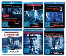 6 Blu-rays * PARANORMAL ACTIVITY - FAN SET # NEU OVP §+