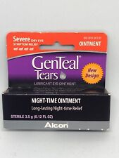 Alcon GenTeal Tears Severe Dry Eye Relief Night-Time Ointment