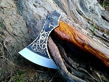 MDM HAND ENGRAVED TOMAHAWK VIKING THROWING AXE COMBAT ANCIENT MEDIEVAL ENGRAVE X