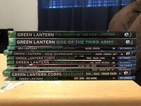 Green Lantern New 52 TPB/HC Lot (Corps, New Guardians, Red Lanterns) Geoff Johns