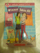 WINNER TAKES ALL A Candy Apple Book Brand New Paperback by Jenny Santana