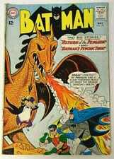 Batman #155 GD/GD+ 1963 DC Comics 1st Silver Age Penguin