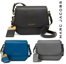 NWT MARC JACOBS Mini Rider Leather Crossbody Bag In VARIOUS COLORS Leather