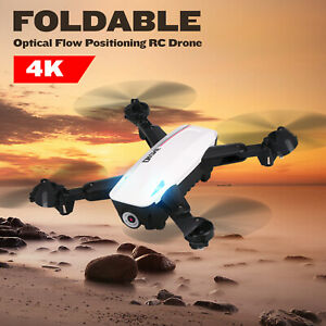 D58 RC  with Camera 4K  Optical  Positioning RC Quadcopter P9V7