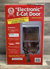 Electronic E-Cat Door No Collar or Pendant Ideal Pet Products Selective Entry