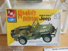 Modelkit AMT / ERTL Hogan's Heroes World War II Jeep on 1:25 in Box