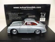 1:18 Autoart PORSCHE 356 A Ferdinand Coupe 1950 silver grey NEU NEW