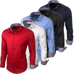 Baxboy 501 Herrenhemd Herren Hemden Hemd men dress Shirt Langarm Freizeithemd