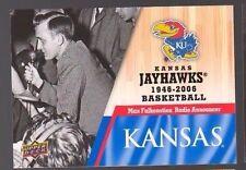 2013 Upper Deck Kansas #11 Max Falkenstien Mint Jayhawks KU Basketball