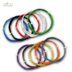 (0,40 €/ M) 10m Flexible Stranded Wire 0, 04mm ² Extra Thin Cable Decoder