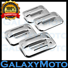 04-14 Ford F150 Triple Chrome Plated 4 Door Handle+keypad+no PSG keyhole Cover
