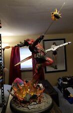 EXCLUSIVE Deadpool Heat-Seeker Sideshow Premium Format Figure Statue #815/1500