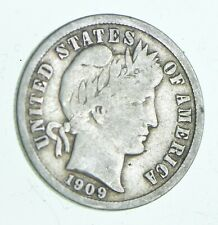 1909-D Barber Dime - Walker Coin Collection *837