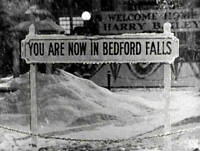 OLD PHOTO CBS RADIO TV Scene from the Movie Its A Wonderful Life 3