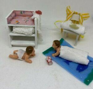 Lundby Dollhouse Nursery Set