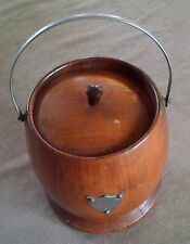 TOBACCO BARREL DATING FROM THE 1920'S