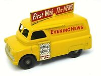 Matchbox Lesney No.42a Bedford Evening News Van (RARE FINE TREAD BLACK WHEELS)