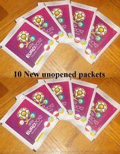 Panini Euro 2012  (10 Packs of stickers)