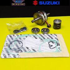 2001 Suzuki RM125 Wiseco Rebuild Kit Bottom End Crankshaft Piston Rod Bearings