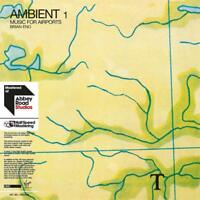 BRIAN ENO - AMBIENT 1: MUSIC FOR AIRPORTS (LIMITED HALFSPEED )  2 VINYL LP NEW!