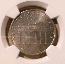 1971 A EAST GERMANY 5 MARK NGC MS 63 - Copper-Nickel - Brandenburg Gate