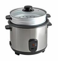Reiskocher 1,8L inkl. Dampfgareinsatz Dampfgarer 700W Gemüsegarer Multikocher