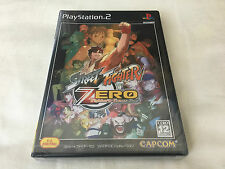 PS2 Street Fighter Zero Fighter's Generation Japan NTSC-J New Factory Sealed