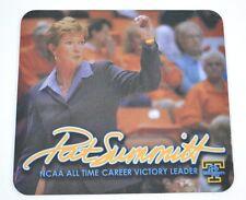 "Tennessee Lady Vols PAT SUMMITT Victory Leader MOUSEPAD 8.25""x7.5"" NEW"