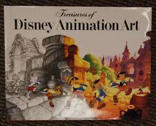 JOHN CANEMAKER SIGNED Book Treasures of Disney Animation Art Abrams 1st Author