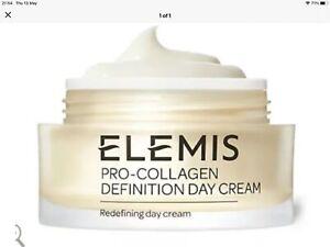 Elemis Pro Collagen Definition Day Cream 30ml New Unboxed