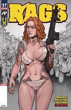 Rags #1 2nd Print (2018 Antarctic Press Comics) NM Luthor Ball PRESALE
